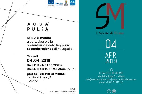 AQUA PULIA. FRAGRANZE di Stile!